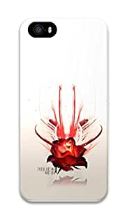 iPhone 5 5S Case Love And Everlasting Motion 3D Custom iPhone 5 5S Case Cover