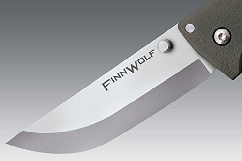 Cold-Steel-Finn-Wolf-35-Folding-Knife-Plain-Edge-AUS-8Astainless-Pocket-Clip