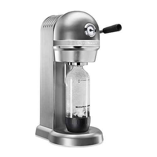 KitchenAid KSS1121CU Sparkling Beverage Maker, Contour Silver