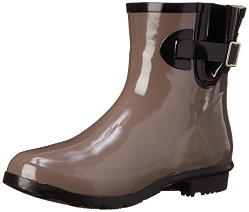(Nomad Women's Droplet Rain Boot, Taupe, 7 M US)