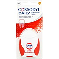 Corsodyl Daily Expanding Floss 30m Pack of 3