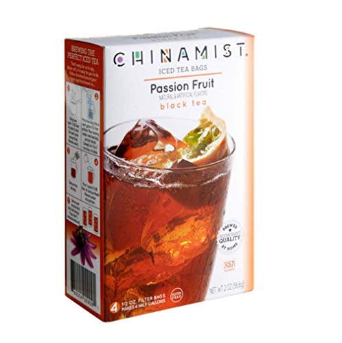 China Mist, Passion Fruit Black Tea Bags for Iced Tea, (3 - Tea Iced Passion Fruit