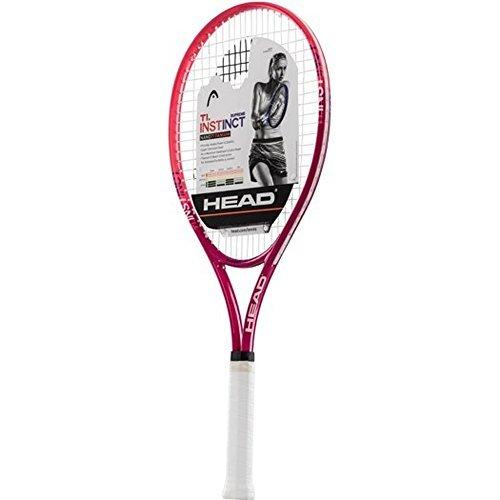 HEAD Ti.Instinct Supreme Tennis Racquet (4-1/8), Strung (Instinct Racquet Tennis)