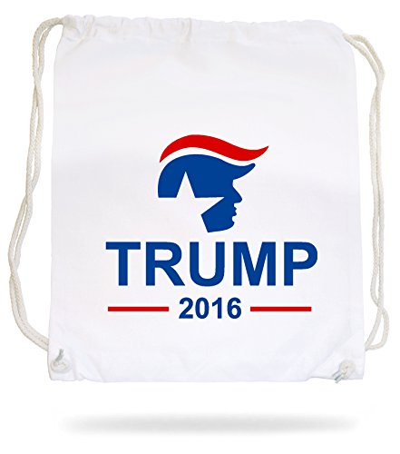 Trump 2016 Gymsack White Certified Freak
