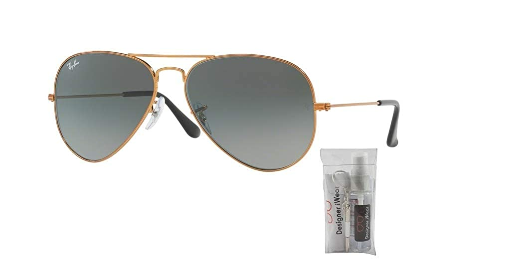 Amazon.com: Ray-Ban RB3025 AVIATOR EVOLVE - Gafas de sol ...