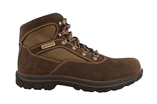 Skechers scarponcino uomo 65176 marrone