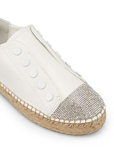 White Kylie Kkbrandy5 Kendall Basses And Femme Sneakers nYwnqZ56