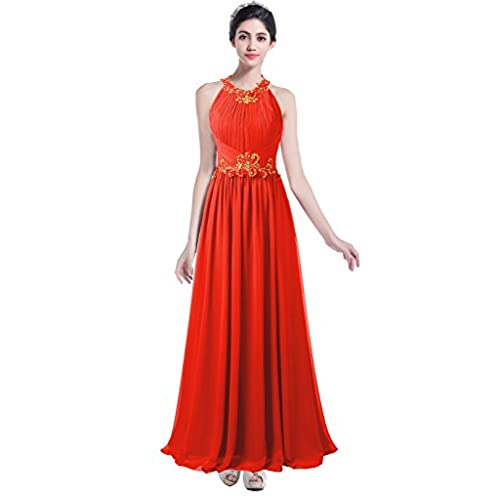 Amazon Wedding Dresses: Red And Gold Bridesmaid Dresses: Amazon.com