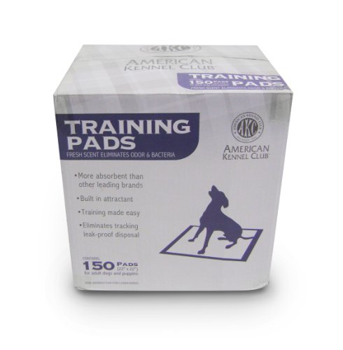 AKC 150 Pack Training Pads Box