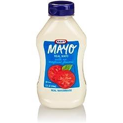Kraft Mayo Real Mayonnaise, 12 Ounce Bottle
