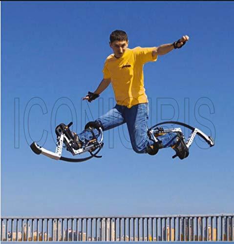 Skyrunner Jumping Stilts Walk runninng Stilts Kangaroo Shoes Bouncing Spring Stilts Men Women Fitness Exercise Load Weight 90-100KG/198-220LBS by Skyrunner (Image #2)
