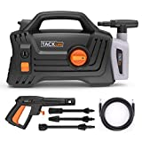 Pressure Washer, High Efficiency 1600 PSI 1.72 GPM 1400W Electric Power Washer, Lightweight and Easy to Carry with 3 Spray Wand, High pressure cleaning Car, Patio, Wall, Furniture, Barbecues and More For Sale