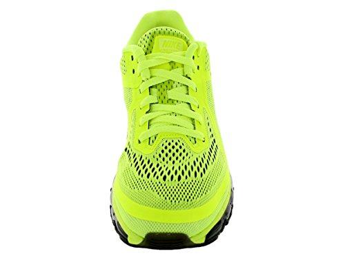 Nike Heren Air Max 2014 Volt / Zwart / Nauwelijks Volt / Wit Hardloopschoen 8.5 Mannen Ons
