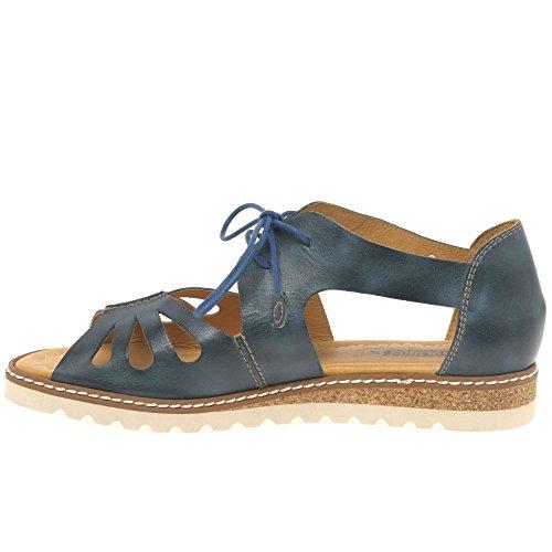 Pikolinos Damen Alcudia W1l Offene Sandalen mit Keilabsatz Ozean