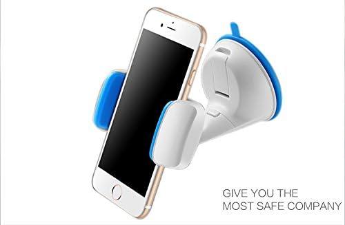 Soporte con sujeción PRO para Smartphone Pinza-Ventosa color azul ...