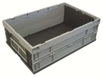 Viso EP6423 - Caja de manutención plegable, polipropileno, 40 l