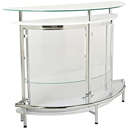 Coaster Home Bar Unit with Acrylic Front