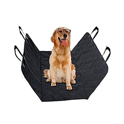 Cheap DTC Pet Supplies Seat Covers for Dogs, Cars/Trucks Vans/Suvs, Keep Your Back Seat Clean and Pet Hair Free, Easy to Install Elegant Heavy Duty Waterproof