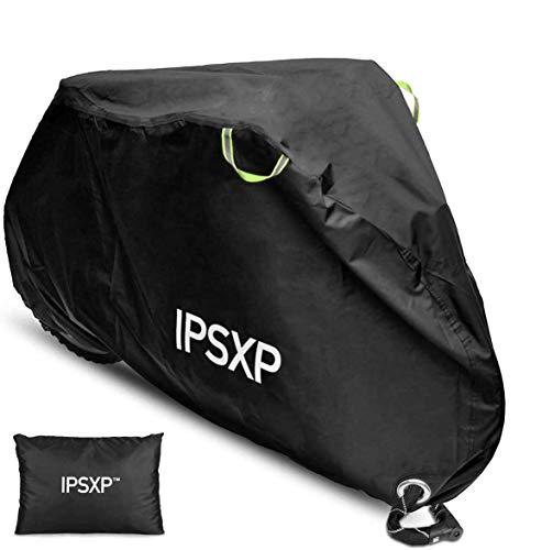 IPSXP 210D Oxford-weefsel, beschermhoes met afsluitbaar gat voor 29 inch universele fiets, mountainbikes, racefietsen en…