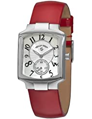 Philip Stein Womens 21FMOPLR Signature White Mother of Pearl Dial Watch