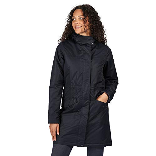 Regatta Women's Rimona Waterproof Breathable Taped Seams Insulated Lined Hooded Jacket Jacket