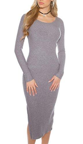 KouCla Grey Women's Pencil Dress Grey Dress KouCla Women's KouCla Pencil FazqBFrw