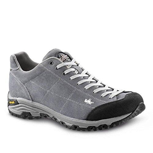 LOMER - MAIPOS MTX (ASH) scarpa in camoscio in MERTEX impermeabile suola vibram (42)