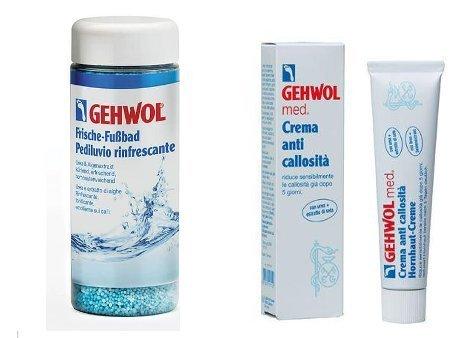 Gehwol Pediluvio Rinfrescante 330 g + Crema Anticallosità 75 ml
