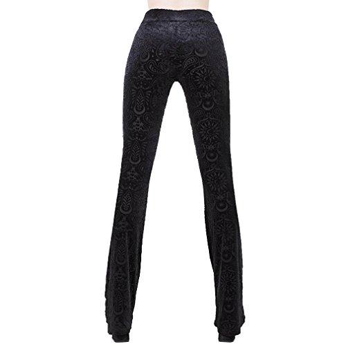 Killstar Pantalon Noir Femme Killstar Pantalon Skinny wYaqBnHx