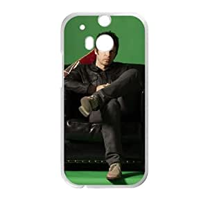 HTC One M8 Cell Phone Case Covers White Noel Gallagher's High Flying Birds Dpfew