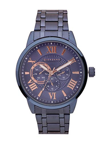 Giordano Analog Blue Dial Men's Watch
