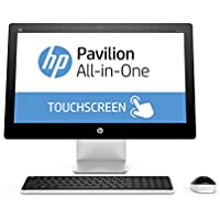 HP Pavilion 23-q110 23-Inch All-in-One Desktop (AMD A8, 4 GB RAM, 1 TB HDD) (Certified Refurbished)