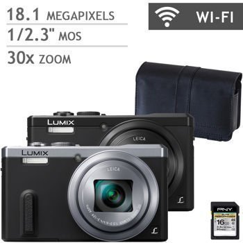 Panasonic DMC ZS40S Digital Camera Silver