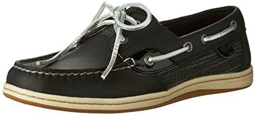 Sperry Top-sider Koifish Metallic Boat Shoe Nero