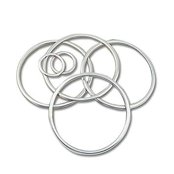 6pcs anillo embellecedor de altavoz de la puerta Interior cromado carcasa para coche accesorios esquema: Amazon.es: Coche y moto