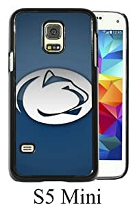 Ncaa Big Ten Conference Football Penn State Nittany Lions 6 Black Abstract Custom Design Samsung Galaxy S5 Mini Protective Phone Case
