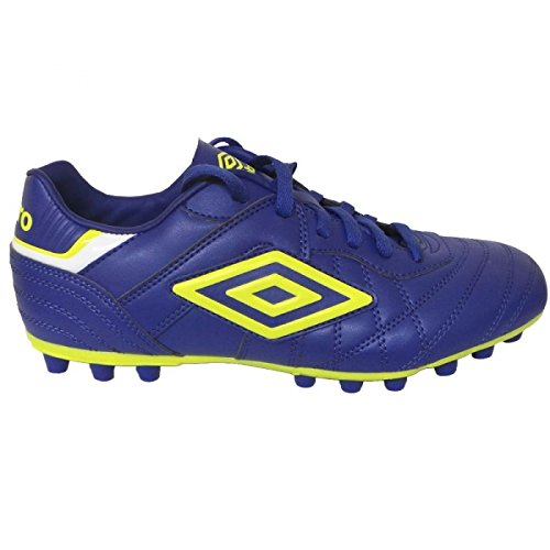 Umbro Bota Speciali Eternal Club AG Clematis Blue-Safety Yellow-White AZUL