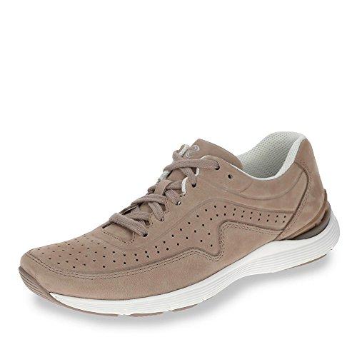 de 12 mujer 300 Gabor Piel beige Beige cordones 84 12 Beige Zapatos para de qEw0v
