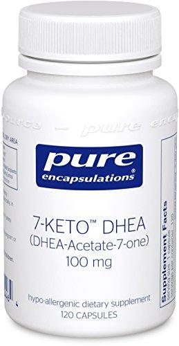Pure Encapsulations DHEA Acetate 7 one Metabolite Hypoallergenic