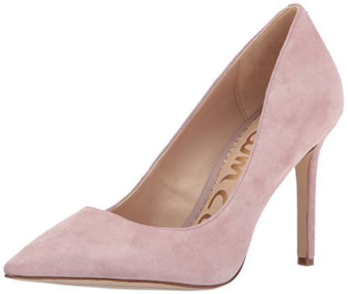 Sam Edelman Women's Hazel Dress Pump, Navy, 10 M US Pink Mauve Suede