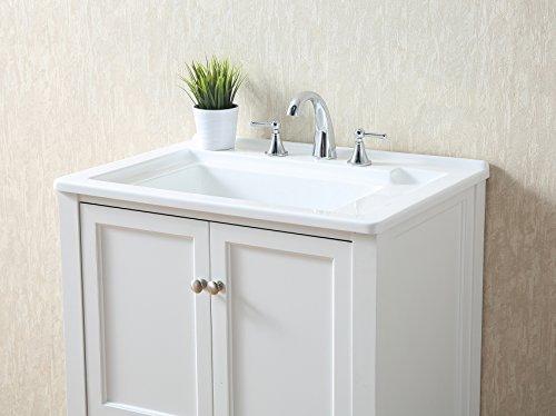 Stufurhome GM-Y01W 30.5-Inch Pure White Single Laundry Sink by Stufurhome (Image #16)