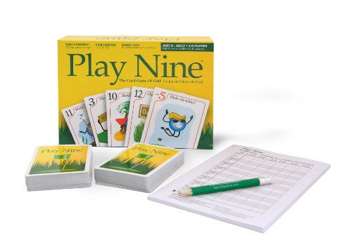 Play Nine - The Card Game of Golf! (Exciting Card Game)