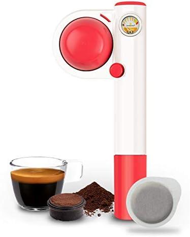 Handpresso Pump Pop Rose 48267 Machine expresso portable et manuelle à dosette ESE ou café moulu