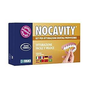 Nocavity NUOVA FORMULA Kit per Otturazioni Dentali Provvisorie. Isola la cavità dentale e riduce il dolore in caso di…