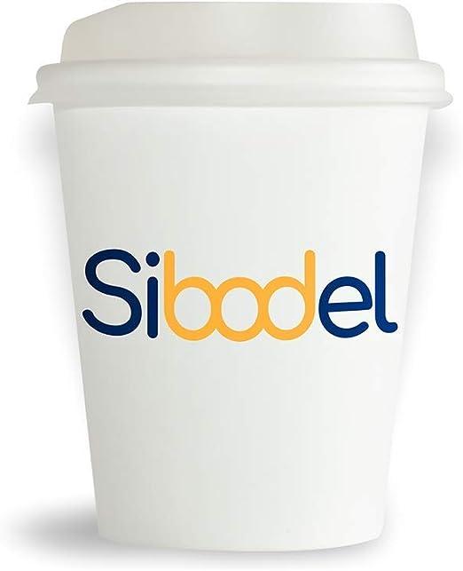 Sibodel Vasos desechables biodegradables Los vasos Bio USA y Getta ...