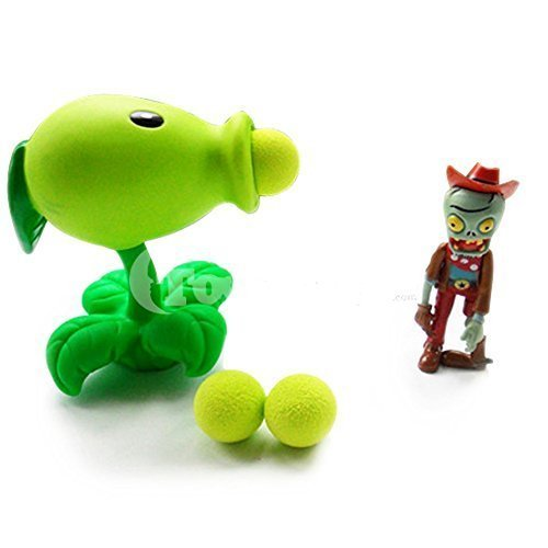 Toyswill  Plants Vs Zombies Peashooter Popper