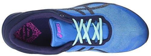 Asics Fuzex Rush, Zapatillas de Gimnasia para Mujer Multicolor (Diva Blue/indigo Blue/white)
