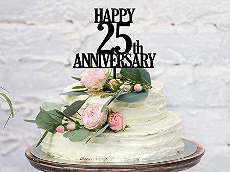 Decorazione per torta per 10° anniversario di matrimonio, in