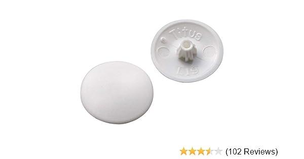 PLASTIC  SCREW COVER CAPS POZI HEAD Various Colours Press Push On For Allen
