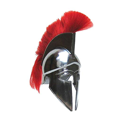 THORINSTRUMENTS (with device) Corinthian Helmet with Red